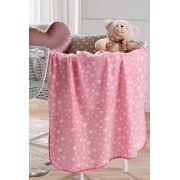 Manta para Bebê Fleece 85cm x 1,10m Estampada Dolli Hedrons