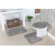 Tapete para Banheiro Kit com 3 Peças Classic Oásis