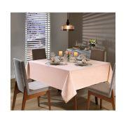 Toalha de Mesa para 4 Cadeiras 1,60m x 1,60m Passion Lisa Pêssego Dohler