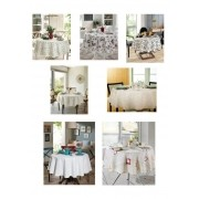Toalha de Mesa para 4 Cadeiras Redonda 1,60m Clean Dohler
