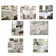 Toalha de Mesa para 8 Cadeiras 1,60m x 2,50m Clean Dohler