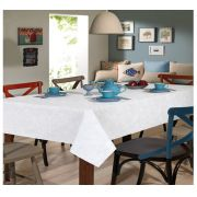 Toalha de Mesa para 8 Cadeiras 1,60m x 2,50m Clean Edite Dohler