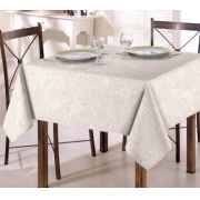 Toalha de Mesa para 4 Cadeiras 1,40m x 1,40m Clean Eliete Dohler