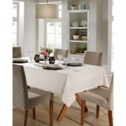 Toalha de Mesa Quadrada para 4 Cadeiras 1,40m x 1,40m Jacquard Dohler