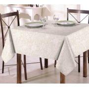 Toalha de Mesa para 6 Cadeiras 1,40m x 2,10m Clean Eliete Dohler