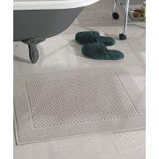 Toalha de Piso Dohler Prime Felpudo 50cm x 70cm Liso Caqui
