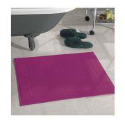 Toalha de Piso Dohler Prime Felpudo 50cm x 70cm Liso Pink