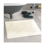 Toalha de Piso Dohler Prime Felpudo 50cm x 70cm Liso Marfim