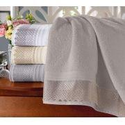 864dc188a banho toalha de banho toalha de rosto cristal com renda buettner apolo cinza