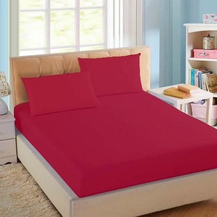 bf4ac4d0dd Lençol Avulso de Casal Pink Royal Santista