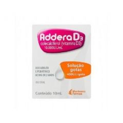 Addera D3 gotas 400UI 10ml