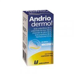 Andriodermol pó 50g