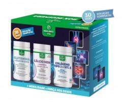 Box Regenera: Glutamina, Cálcio e Colágeno