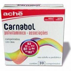 Carnabol com 20 comprimidos Ache