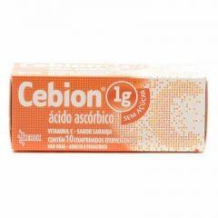 Cebion 1g com 10 Comprimidos Efervescente sem açúcar Merck