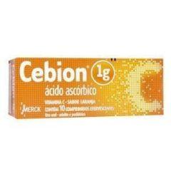 Cebion Efervescente 1g 10 comprimidos