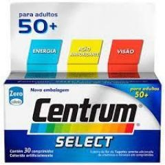 Centrum Select - para adultos 50+ com 30 Comprimidos