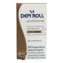 Cera Depilação Depi Roll Facial Tradicional