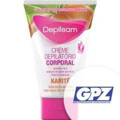 Creme Depilatório Peles Normais Depilsam Karité - Corporal, 100g