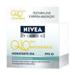 Creme Facial Nivea Q10 Plus Antissinais Dia - FPS 15, 52g