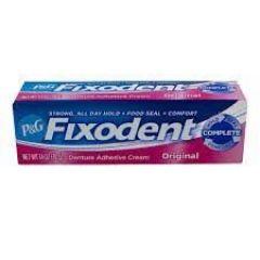 Creme Fixador de Próteses Dentária Fixodent Original / 39 G Procter