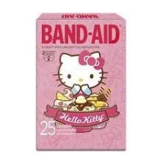 Curativo Band-Aid Hello Kitty com 25 unidades