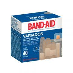 Curativo Band-Aid Variados Johnson's com 40 Unidades