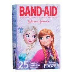 Curativo Frozen Band-Aid com 25 unidades