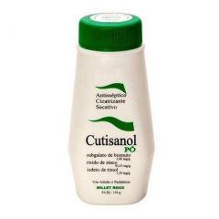 Cutisanol Pó - 3mg/g + 1,5mg/g + 93,33mg/g, frasco com 150g de pó para uso
