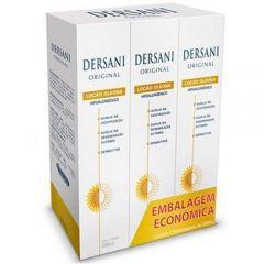 Dersani Original Loção Oleosa - 200mL, 3 Unidades