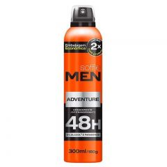 Desodorante Soffie Men Aerosol Adventure 300ml