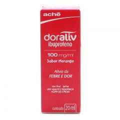 Doraliv 100Mg Morango Gts 20Ml