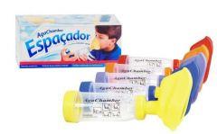 Espaçador Aga Chamber Para Broncodilatador Spray