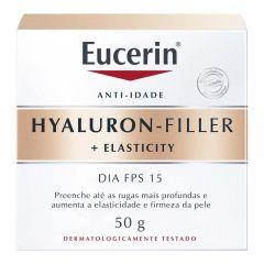 Eucerin Hyaluron Filler Elasticity Dia FPS-15 com 50g