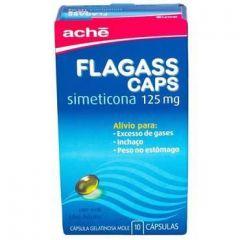Flagass 125 Mg 10 Capsulas Gel