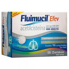 Fluimucil Comprimido 600mg com 16 comprimidos efervescentes