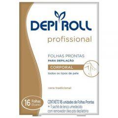 Folha Corporal Pronta Depi Roll tradicional com 16 unidades
