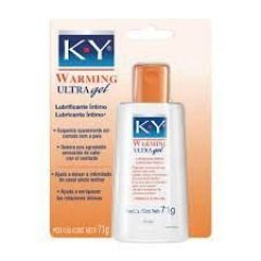K-Y  WARMING ULTRA Gel Lubrificante Íntimo 71g Johnson's