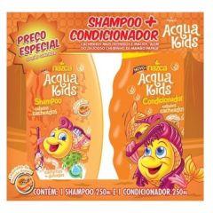 Kit Acqua Kids Shampoo + Condicionador Cabelo Cacheados