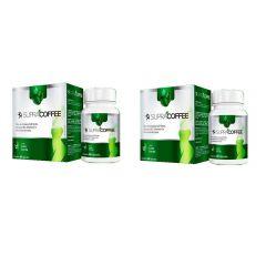 Kit com 2 caixas Supracoffee Café Verde Emagrecedor Natural