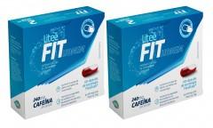 Kit com 2 Caixas Suplemento Alimentar de Cafeína LiteeFit Homem