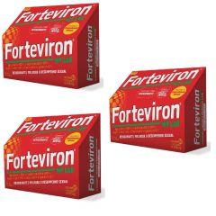 Kit com 3 caixas Forteviron 250 mg WP Lab com 60 comprimidos cada caixa
