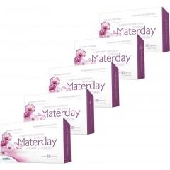 Kit com 5 Caixas Polivitamínico Para Gestantes e Lactantes Materday - 150 Cáps