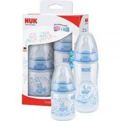 Kit Mamadeira Nuk Azul - 2 unidades