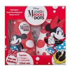 Kit Minnie Rocks the Dots Shampoo + Condicionador 250ml cada