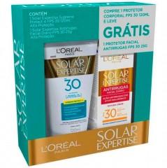 Kit Protetor Solar L'oréal Paris Solar Expertise Alta Proteção 30 FPS