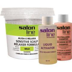 Kit Salon Line Mild Finos delicados 215g