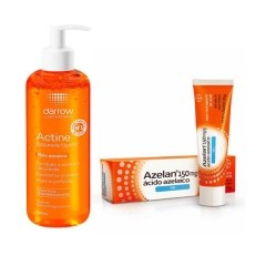 Kit Tratamento Antiacne Azelan Gel + Sabonete Líquido Actine