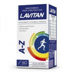 Lavitan A-Z com 60 Cápsulas Cimed