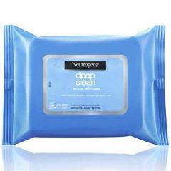 Lenço de Limpeza Facial Deep Clean Neutrogena - com 25 Unidades
